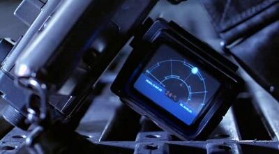 Uno dei sensori di movimento di Aliens