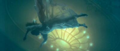"""Una vittima galleggia nelle gelide acque di """"Titanic"""""""